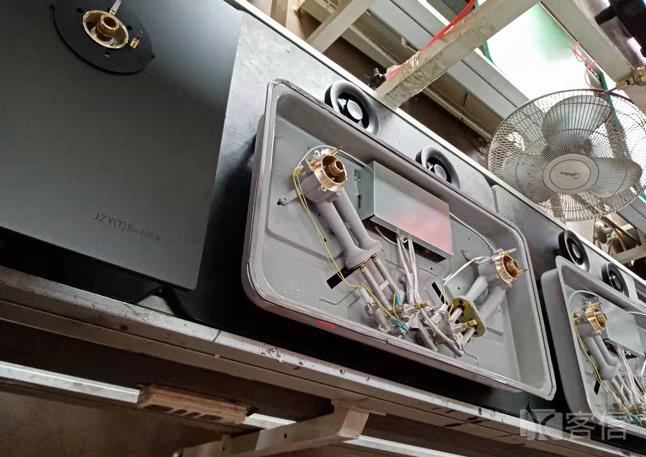 煤气炉燃气灶具生产的半成品