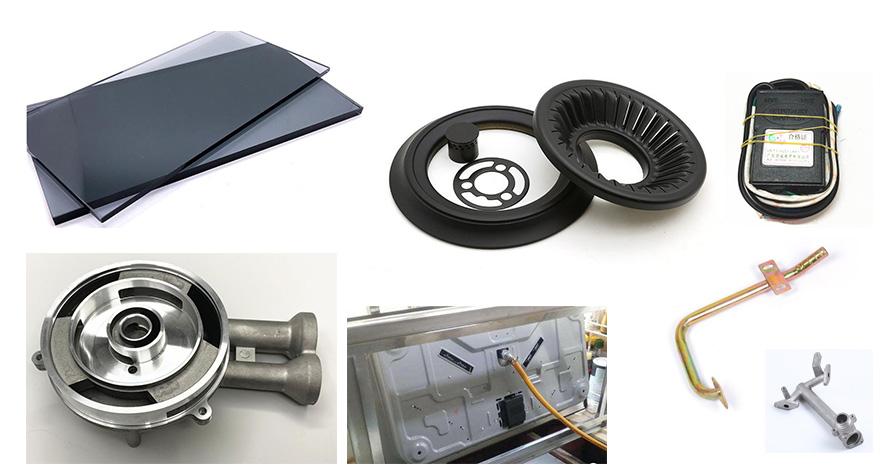 燃气灶,煤气炉具生产过程所需要材料