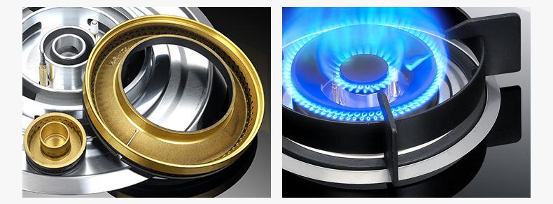 铜质燃气灶火盖