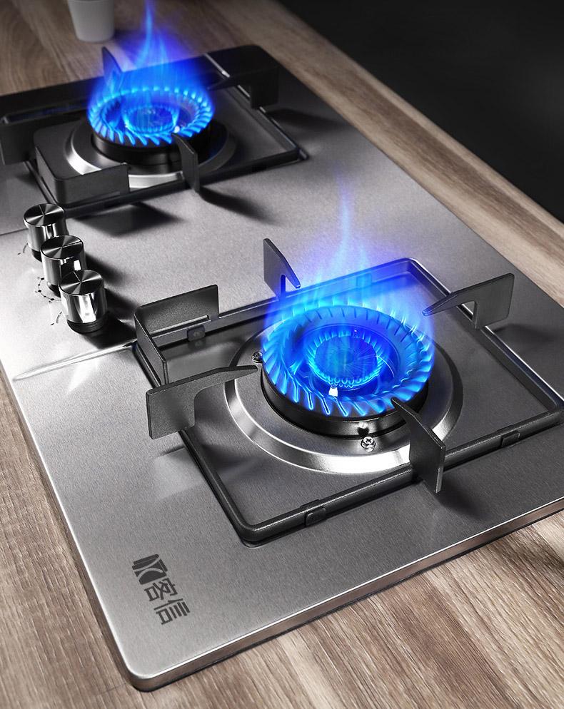 高端智能安全不锈钢燃气炉煤气灶具供应厂家客信品牌